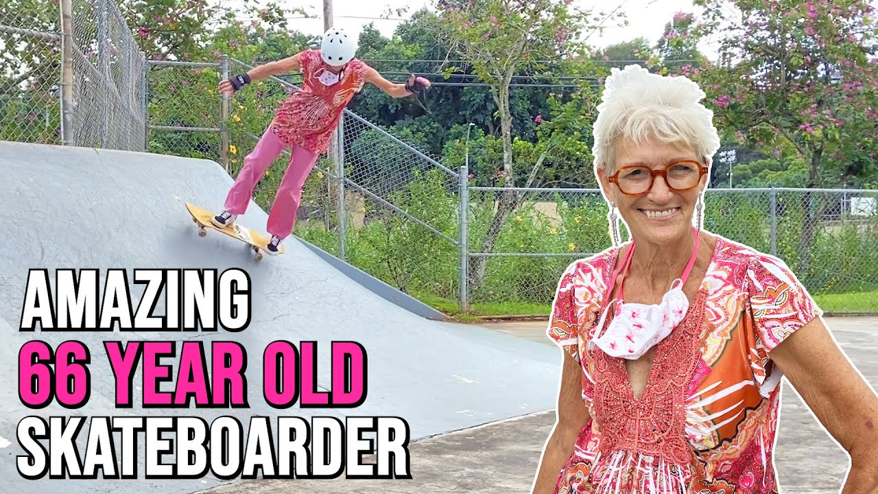 Meet The Amazing 66 Year Old Skateboarder | Jackie G