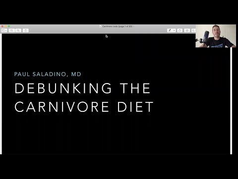 Dr. Paul Saladino - 'Debunking The Carnivore Diet'