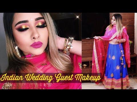Indian Wedding Guest Makeup | Makeupbykimahmed