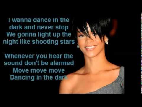 Rihanna - Dancing in the Dark ( LYRICS )