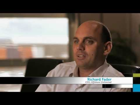 Offshore Unlimited - Tasmania Business in Action (1 minute video)
