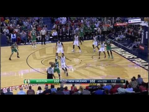 Marcus Smart offensive rebound with 1:20 left in the 4th vs. Pelicans