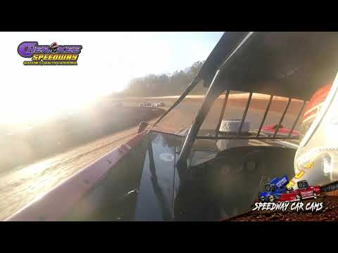 #9 Johnny Pursley - Super Late Model - Heat & Feature - 1-26-20 Cherokee Speedway - In-Car Camera
