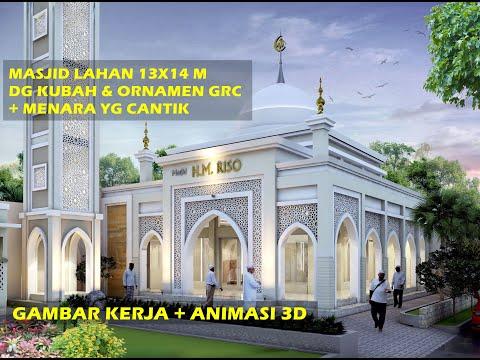 Desain Masjid Taj Mahal