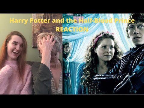 So Much Romance Drama! Harry Potter 6 And The Half-Blood Prince REACTION!!