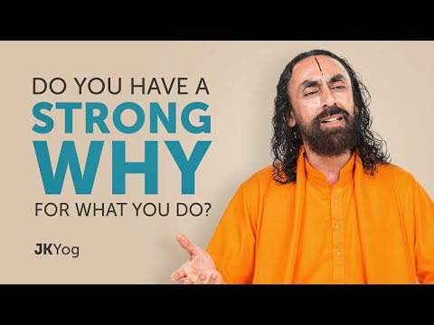 Do You Have A Strong WHY For What You Do? | Self Motivation Swami Mukundananda