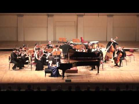 F. Chopin - Piano Concerto No.2, part 1. Georgian Sinfonietta & Nino Gvetadze