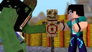 Minecraft: PARAÍSO - #145 TREINANDO NOSSO AMIGO HULK!
