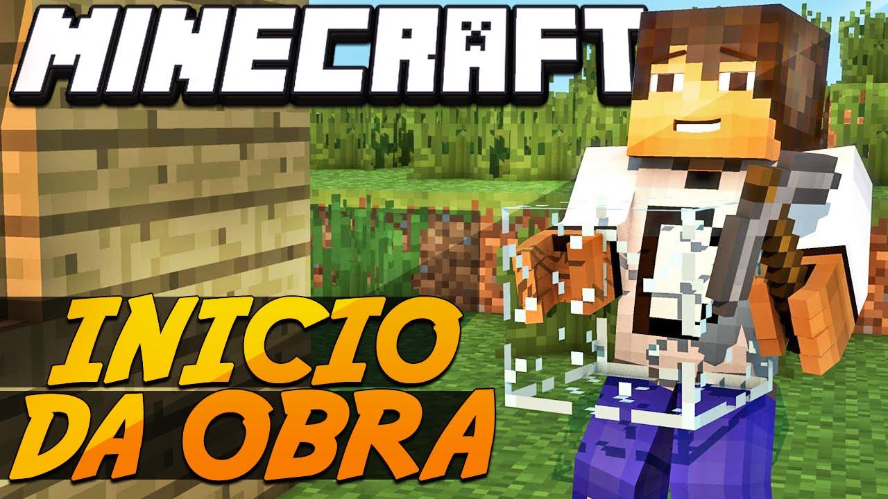 Minecraft - Industrial Craft: Construindo Mansão - YouTube