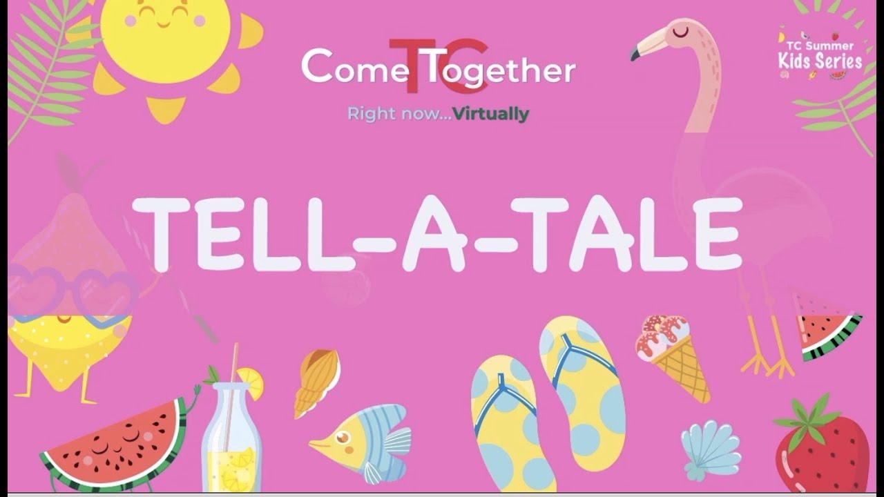 Tell-A-Tale with Dr. Ayesha Rabadi-Raol