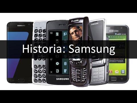 Móviles Samsung | su historia en imágenes (1998 - 2017)