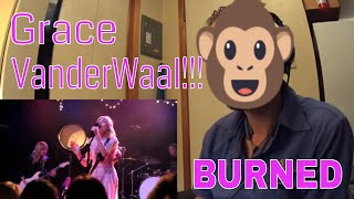 ROCK MUSICIAN REACTION - Grace VanderWaal - Burned (LIVE) - Irving Plaza