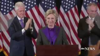 Adding Fight Song To Hillary's Concession Speech For Consistency Purposes