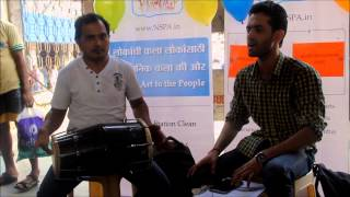 NSPA: Sufi music with Kaustubh and Kailas (Borivali station performances)