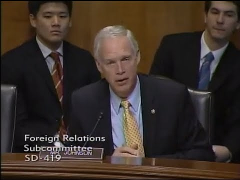 Senator Johnson at Foreign Relations Committee