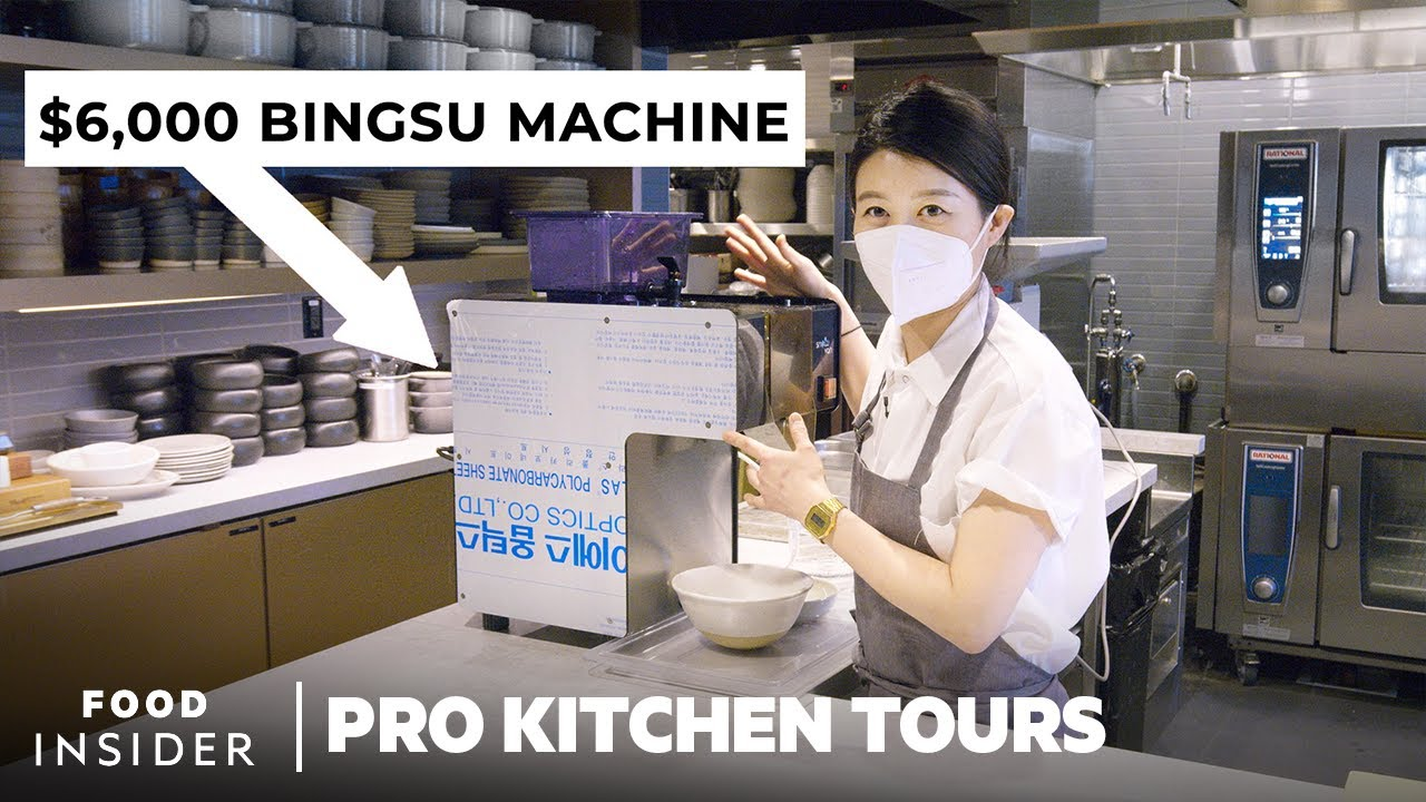 Chef Eunjo Park's $6000 Bingsu Machine And 6 Other Momofuku Essentials | Pro Kitchen Tours