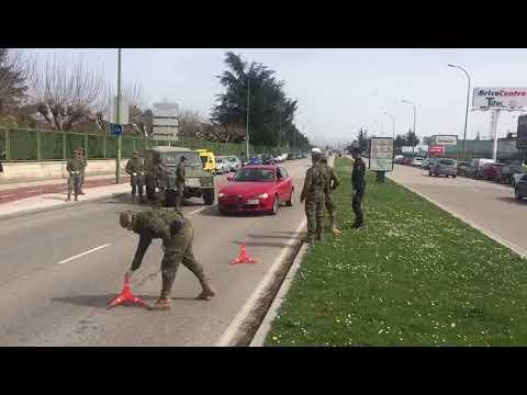 El Ejército se despliega en Burgos