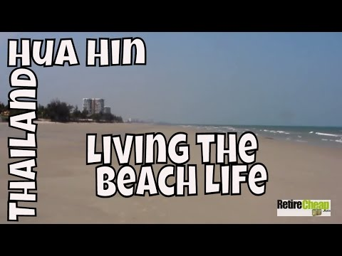 JC's Road Trip - Living the Beach Life -- Hua Hin, Thailand