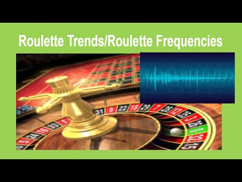 trends-in-european-roulette-/-roulette-frequencies-✔