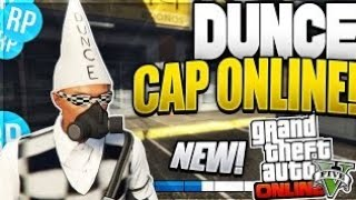 GTA 5 ONLINE - How to get RARE Dunce Cap (Bad Sport) 1.40