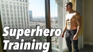LAS VEGAS SUPERHERO WORKOUT TRAINING | Winter Shredding Ep. 11