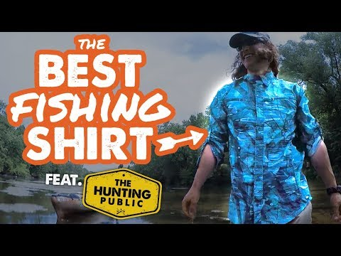 The BEST Fishing Shirt | feat. The Hunting Public