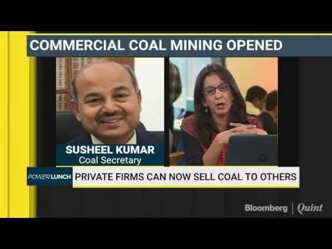 #BQExclusive: Coal Secretary On India's Move To Open Coal Mining To Private Firms