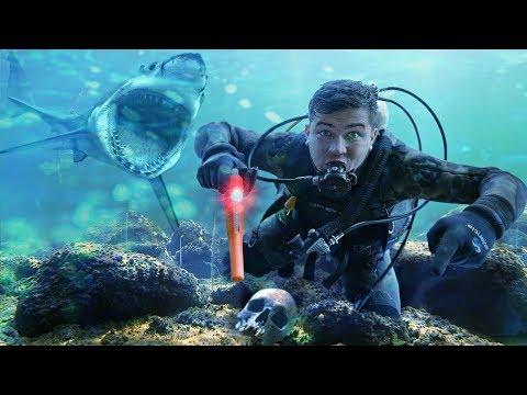 Эти жуткие находки я нашел под водой, на дне с помощью акваланга