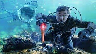 Эти жуткие находки я нашел под водой на дне с помощью акваланга