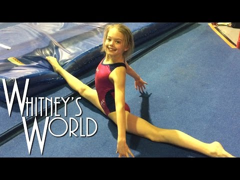 Whitney In The Gym | Random Gymnastics