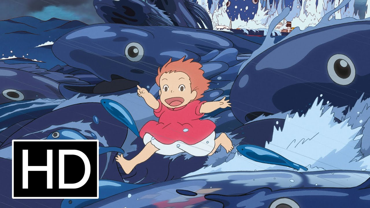 Ponyo Official Trailer Youtube
