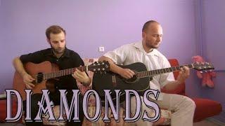Rihanna - Diamonds (acoustic guitar cover, tabs)