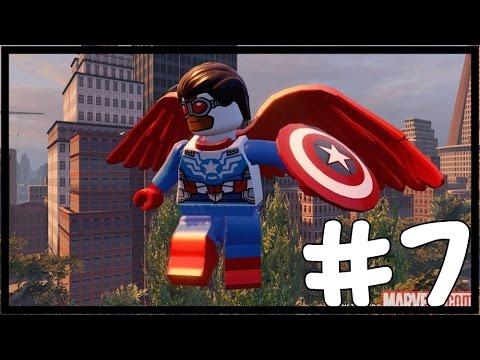 CAPTAIN FALCON AMERICA! - LEGO Marvel's Avengers Free Roam - Part 7(Türkçe Gameplay) HD