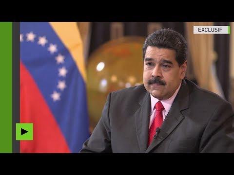 Nicolás Maduro à Donald Trump : «Arrêtez votre agression contre le Venezuela» (EXCLUSIF)