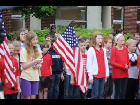 Gettysburg Address @ Ruggles Lane 2014 Memorial Day Ceremony