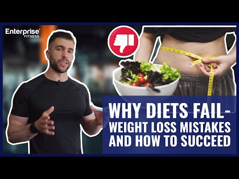 Why Diets Fail Weight Loss Mistakes AND How To Succeed
