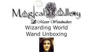 Magical Alley Wand Unboxing - Custom Sycamore Wand