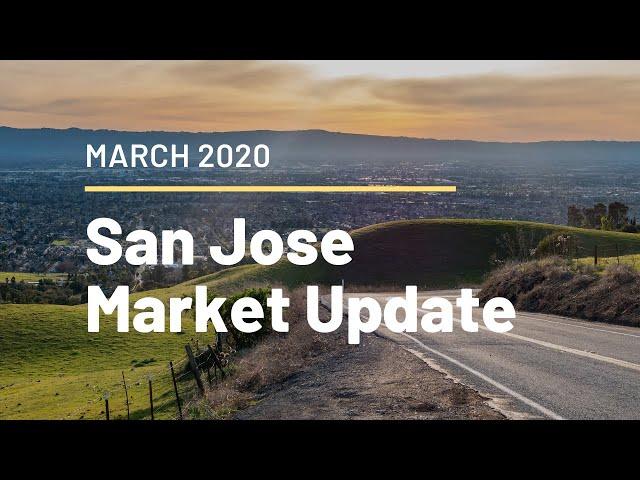San Jose Housing Market Update - March 2020 - Matt Tenczar