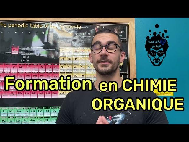 📖 FORMATION EN CHIMIE ORGANIQUE : Sortie imminente !!
