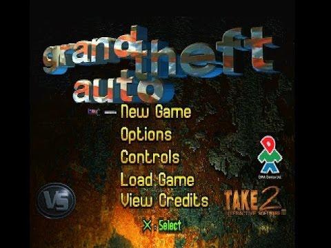 Psx Longplay  Grand Theft Auto Part