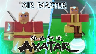 I Mastered Air Bending in Roblox Avatar: A Bender's Will! | All Air Bending Moves Showcase