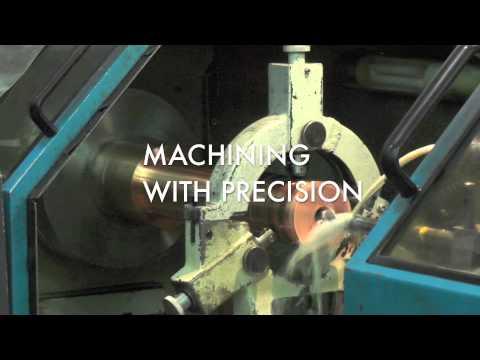 COPPER ROD DEEP GUN DRILLING @ ARROW MACHINE WORKS