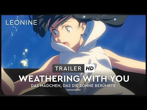 Weathering With You - Trailer (deutsch/ german; FSK 0)