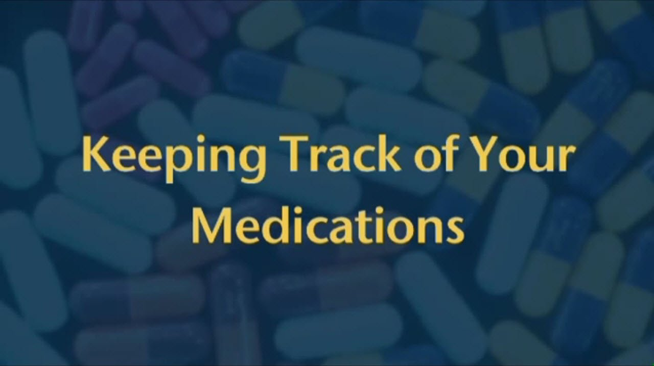 keeping track of your medications peter solberg md youtube