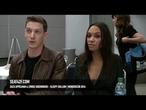 Zach Appelman & Lyndie Greenwood Sleepy Hollow WonderCon 2016 Interview