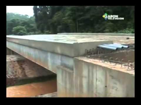 RTG/Societe -Niveau d'execution de l'axe routier de Ndende Tchibanga