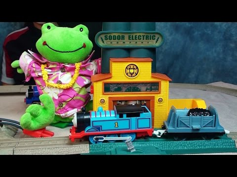 thomas-and-friends-power-line-collapse-playtime-toy-review