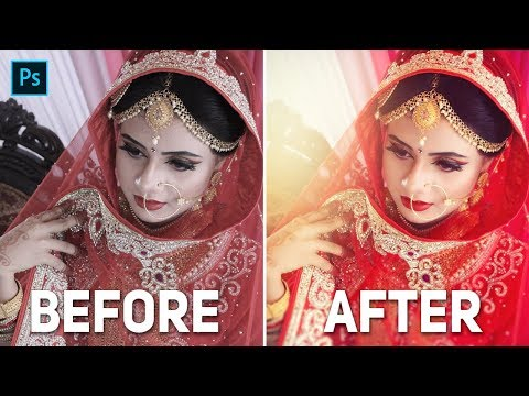 Best Way Of Editing Weddings Photography In Adobe Photoshop CC ।  Beginners Tutorials 2019 thumbnail