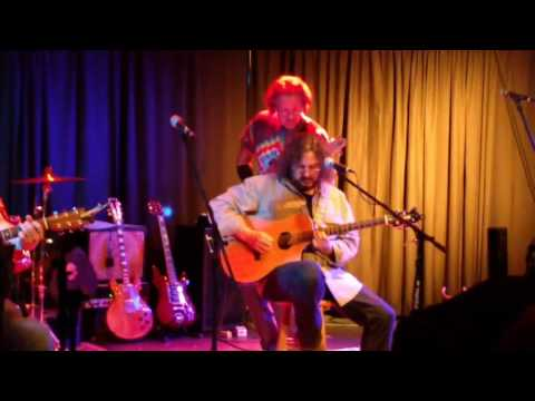 Half Step perform an acoustic 'Monkey and the Engineer' at The Studio Theatre on January 2 2017