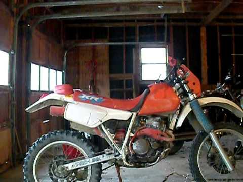 1986 honda xr250